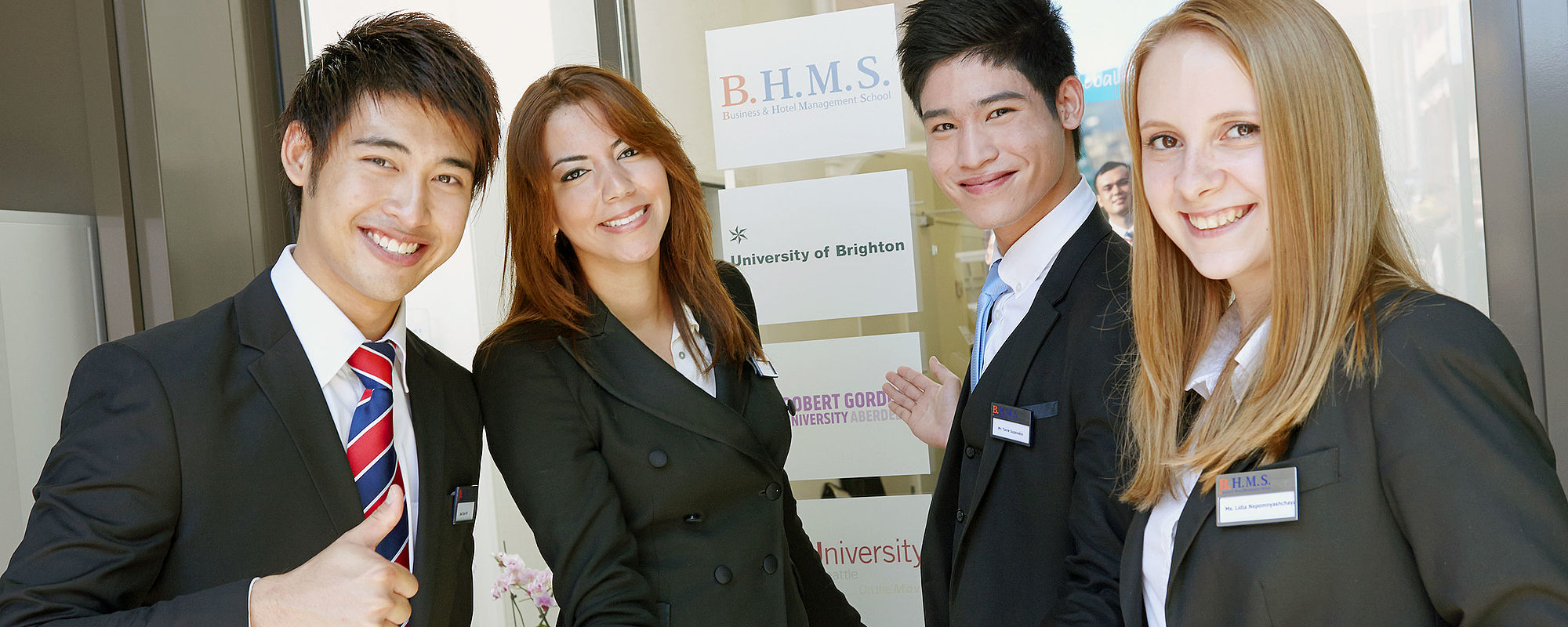 B.H.M.S. Business & Hotel Management School Lucerne, Switzerland